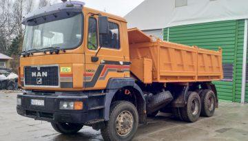 Wywrotka MAN 6x6 - 16 ton